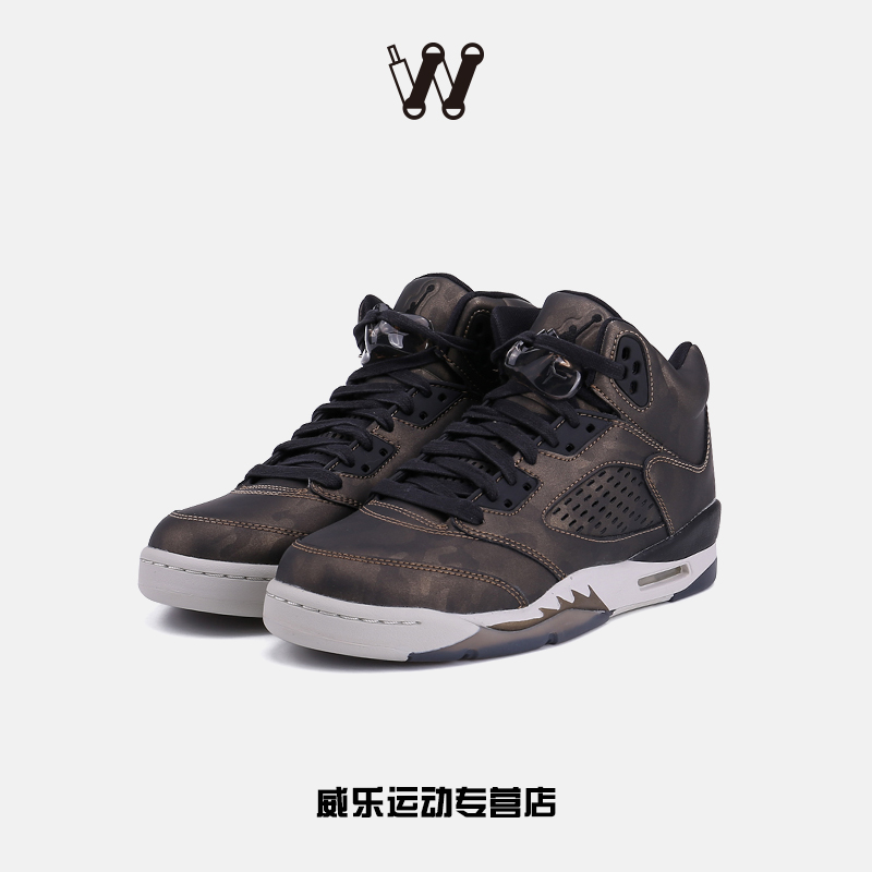 耐克运动鞋图片 耐克正品air jordan 5反光nike女球鞋运动 919710-030 aj5篮球鞋_推荐淘宝好看的女耐克运动鞋