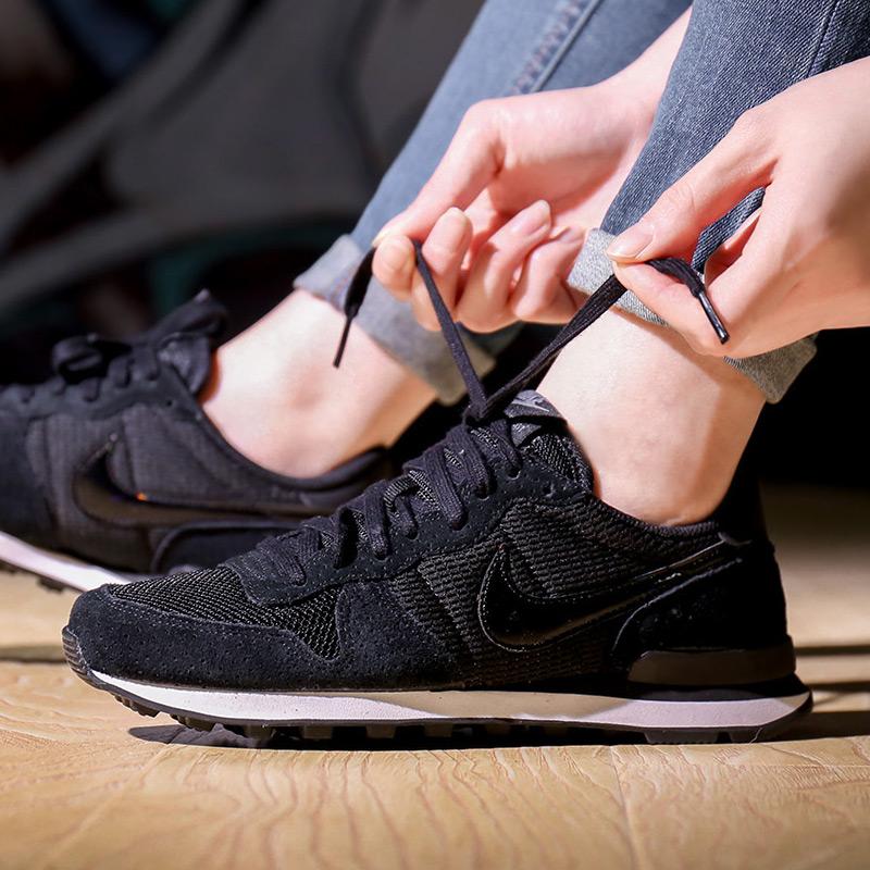 耐克运动鞋 耐克女鞋 2016秋季Internationalist复古休闲运动板鞋828407-003_推荐淘宝好看的女耐克运动鞋