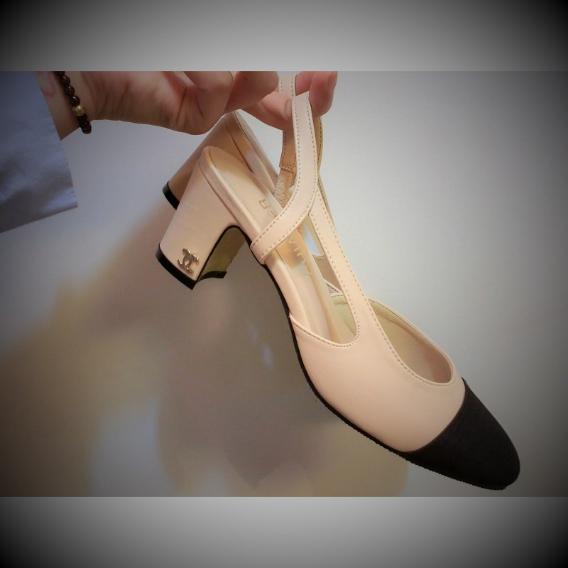皮凉鞋 韩版粗跟凉鞋女夏中跟高跟鞋16新款夏天百搭包头浅口真皮女士鞋子_推荐淘宝好看的女皮凉鞋