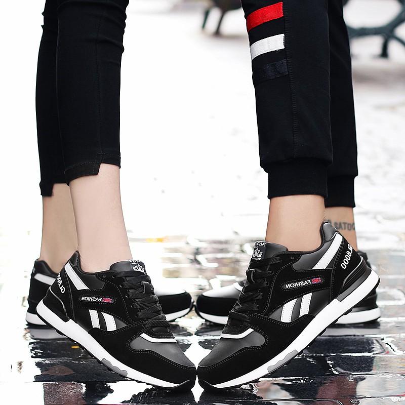 耐克女士运动鞋 帕耐克丝男鞋秋冬季运动鞋男女款韩版潮跑步鞋情侣款男运动鞋A361_推荐淘宝好看的女耐克女运动鞋