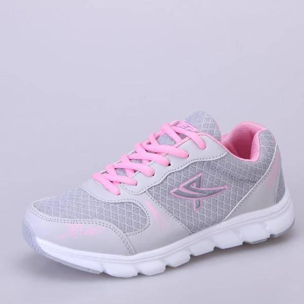 粉红色运动鞋 秋季女鞋粉红色运动鞋新款镂空透气网鞋轻便跑步鞋新款学生旅游鞋_推荐淘宝好看的粉红色运动鞋