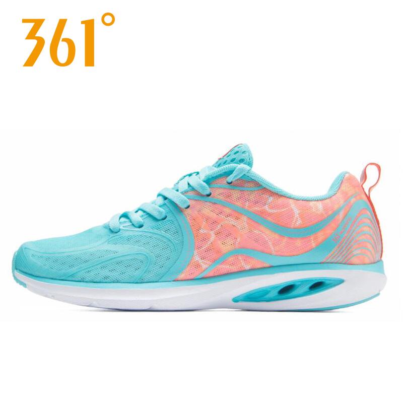 361度女式运动鞋 361度女鞋跑步鞋夏季新款减震耐磨轻便网面运动鞋女子跑鞋 透气鞋_推荐淘宝好看的女361度女运动鞋
