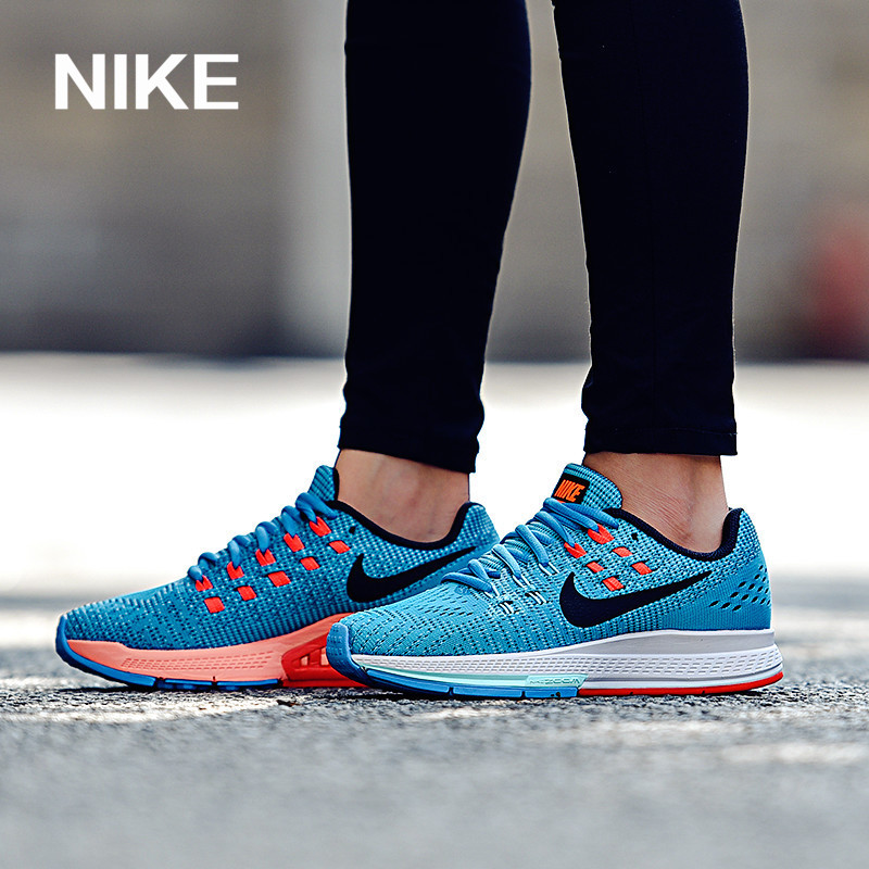 耐克运动鞋图片 Nike耐克女鞋跑步鞋2017新款ZOOM气垫正品飞线透气运动鞋806584_推荐淘宝好看的女耐克运动鞋