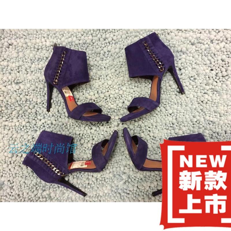 紫色高帮鞋 现货美国专柜代购VINCE CAMUTO 新款高帮紫色细高跟鞋_推荐淘宝好看的紫色高帮鞋