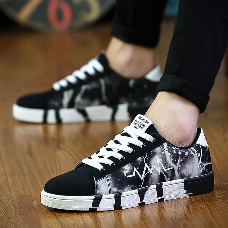 白色运动鞋 夏季男孩帆布鞋子大童休闲运动鞋中学生白色板鞋10-13-14-15-16岁_推荐淘宝好看的白色运动鞋
