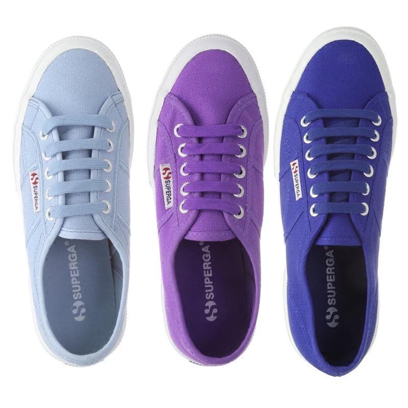 紫色帆布鞋 专柜superga2750经典天蓝浅蓝淡蓝紫色香芋色休闲低帮男女帆布鞋_推荐淘宝好看的紫色帆布鞋