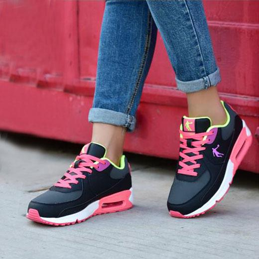 乔丹运动鞋 乔丹女鞋 运动鞋冬季新款2016正品跑步鞋板鞋学生百搭皮面气垫_推荐淘宝好看的女乔丹运动鞋