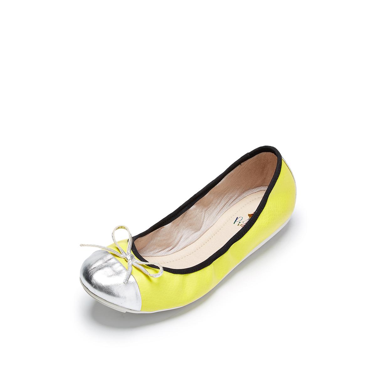 达芙妮豆豆鞋 SHOEBOX鞋柜达芙妮旗下春特卖休闲拼色蝴蝶结平跟豆豆圆头女单鞋_推荐淘宝好看的达芙妮豆豆鞋
