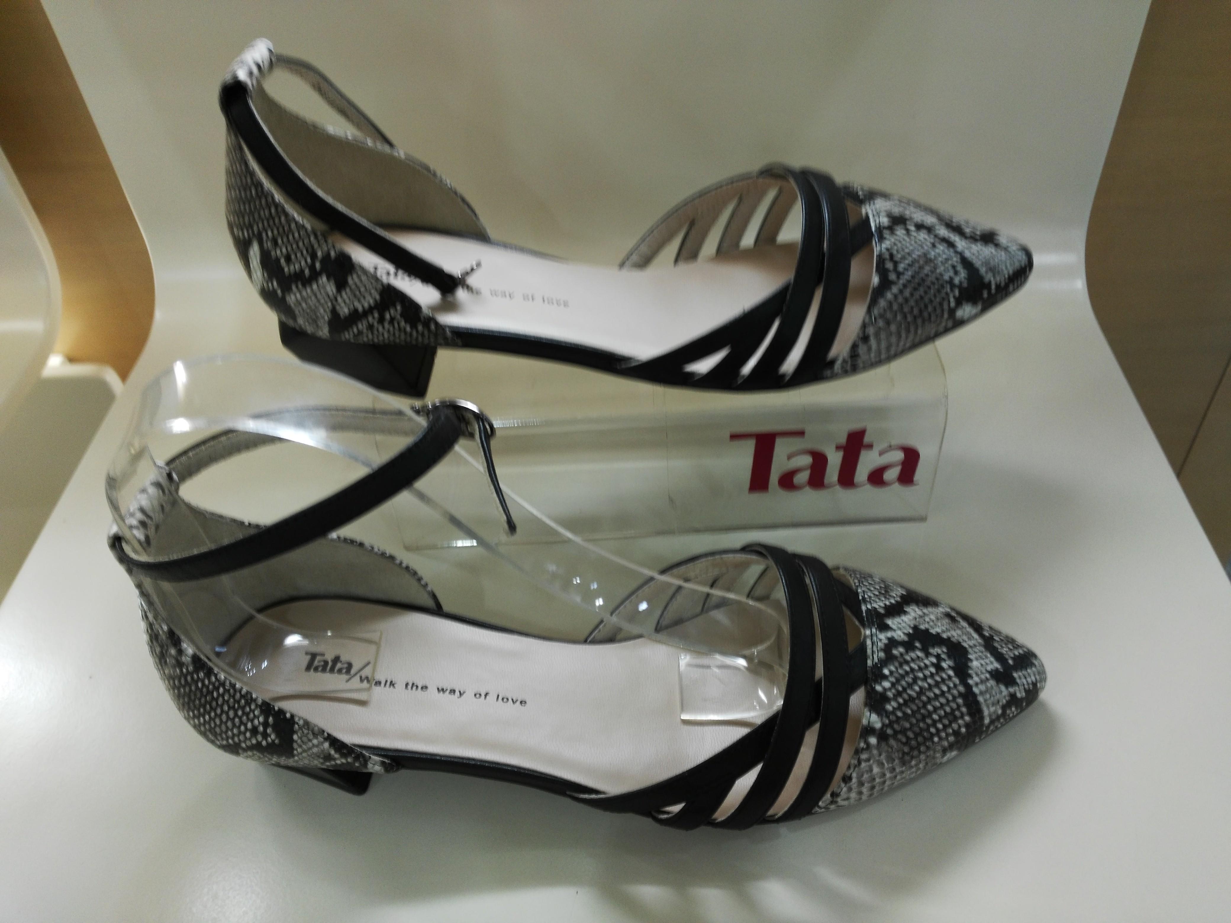 他她尖头鞋 专柜正品代购Tata他她2016年春款单鞋尖头牛皮 2OB01D 2OB01_推荐淘宝好看的他她尖头鞋