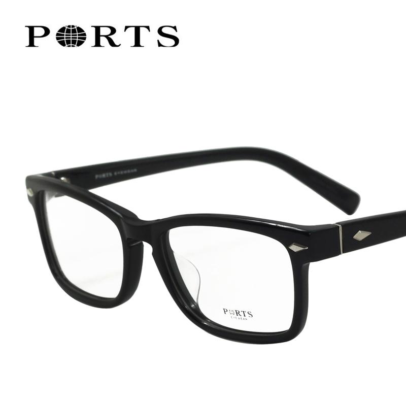 宝姿女装 PORTS宝姿眼镜架 时尚眼镜框 女士 正品 全框 近视眼镜架PM9205_推荐淘宝好看的宝姿
