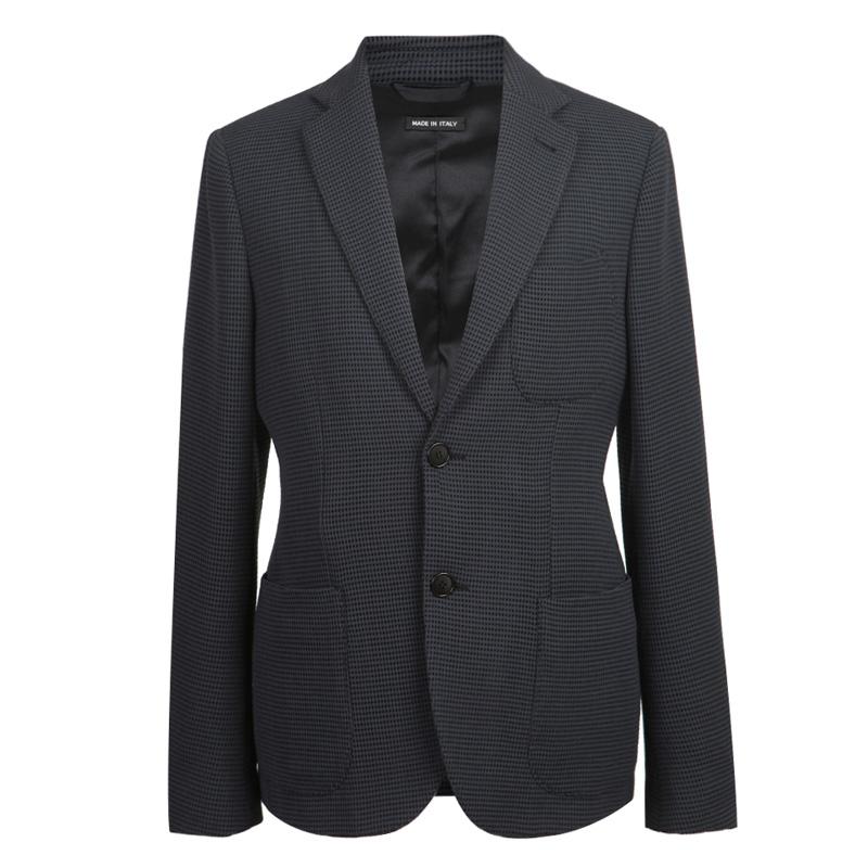 阿玛尼男士西装 GIORGIO ARMANI乔治·阿玛尼羊毛混纺男士单西服_推荐淘宝好看的阿玛尼男西装