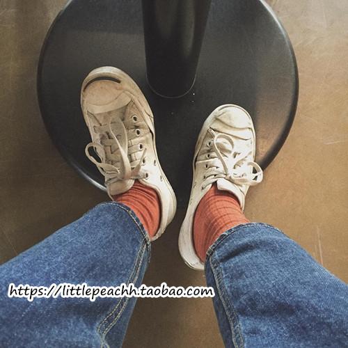 开口笑帆布鞋 小黄桃 韩国ulzzang万年港风chic百搭开口笑帆布鞋女小白鞋情侣鞋_推荐淘宝好看的女开口笑帆布鞋
