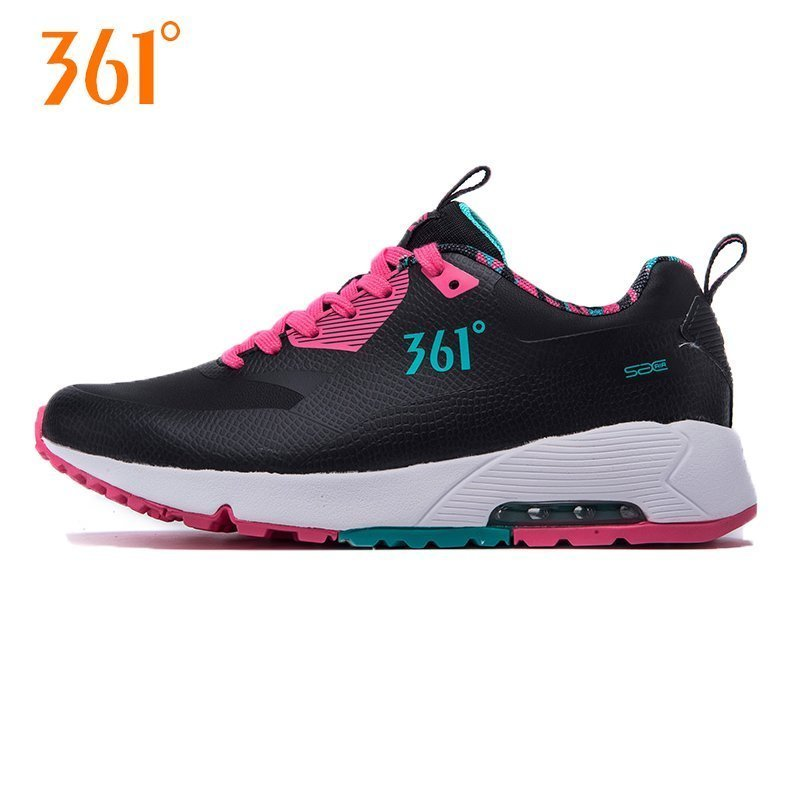 361度运动鞋正品 361度女鞋舒适运动鞋  361气垫减震耐磨防滑超轻跑步鞋_推荐淘宝好看的女361度运动鞋