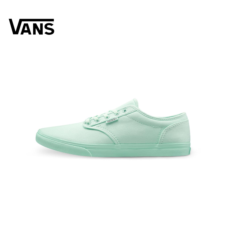 绿色帆布鞋 Vans范斯绿色红色女款运动鞋帆布鞋|VN0A38HMMYFMYG_推荐淘宝好看的绿色帆布鞋