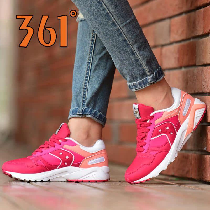 361度女士运动鞋 361女鞋跑步鞋正品2017夏季新款休闲鞋 361度轻便韩版运动鞋女士_推荐淘宝好看的女361度女运动鞋