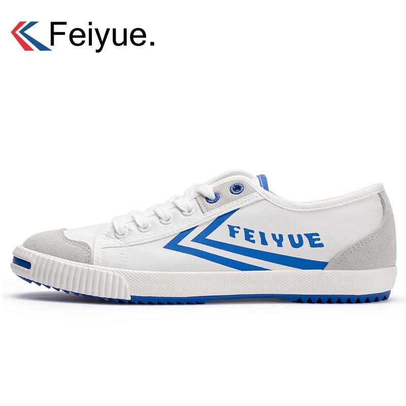开口笑帆布鞋 feiyue飞跃新款开口笑宝蓝色潮流透气帆布鞋 男女低帮年轻板鞋_推荐淘宝好看的女开口笑帆布鞋