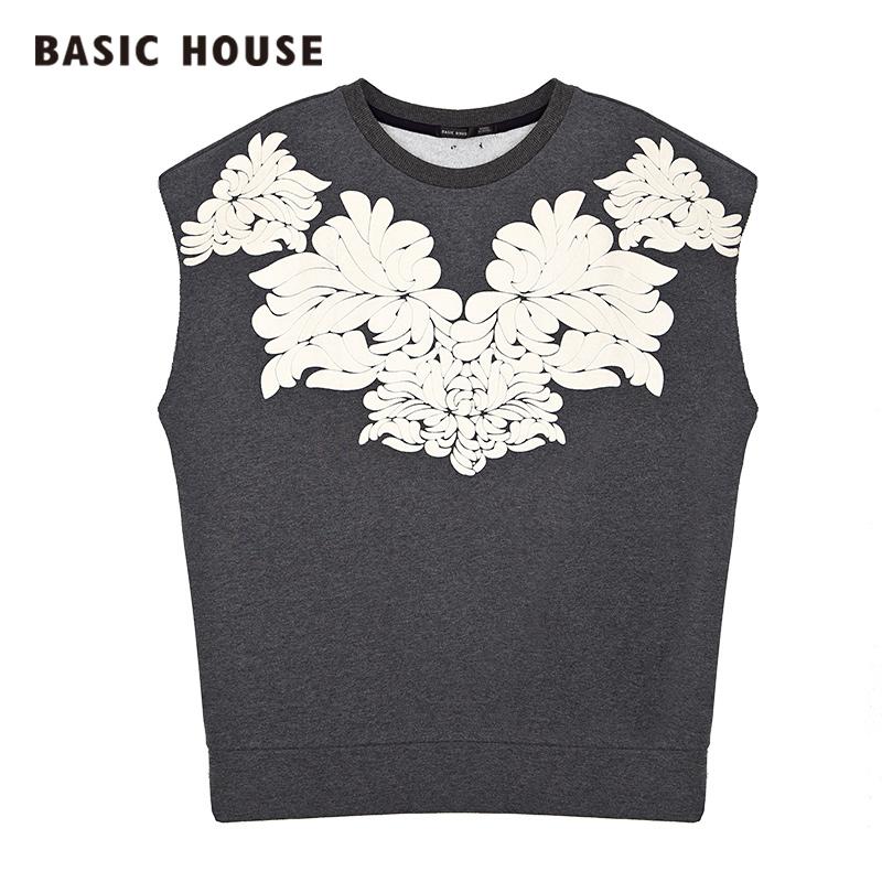 百家好T恤 Basic House百家好时尚舒适女装弹力女式T恤HOTS621D_推荐淘宝好看的百家好T恤女