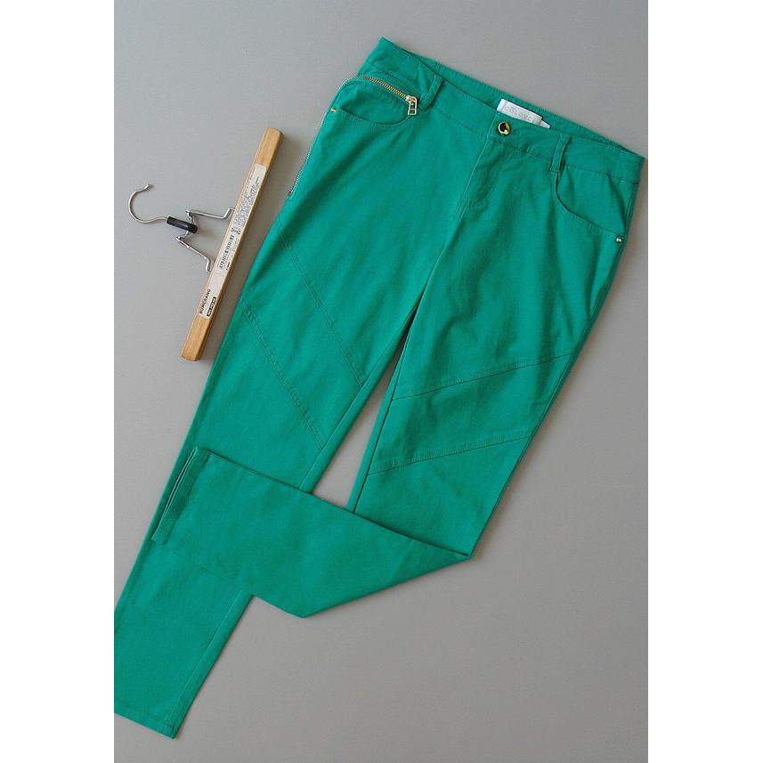 绿色牛仔裤 巴[T108-506]专柜品牌898正品新款女士长裤显瘦牛仔裤0.36KG_推荐淘宝好看的绿色牛仔裤