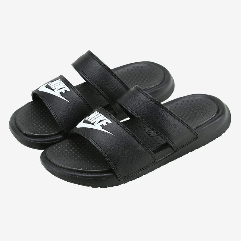 耐克运动鞋 Nike Benassi Ultra女鞋绑带休闲沙滩鞋忍者运动拖鞋819717-010_推荐淘宝好看的女耐克运动鞋