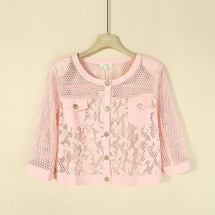 粉红色风衣 兰米特卖秋芊之*正品剪标特卖大码加大码外套风衣1511066445_推荐淘宝好看的粉红色风衣