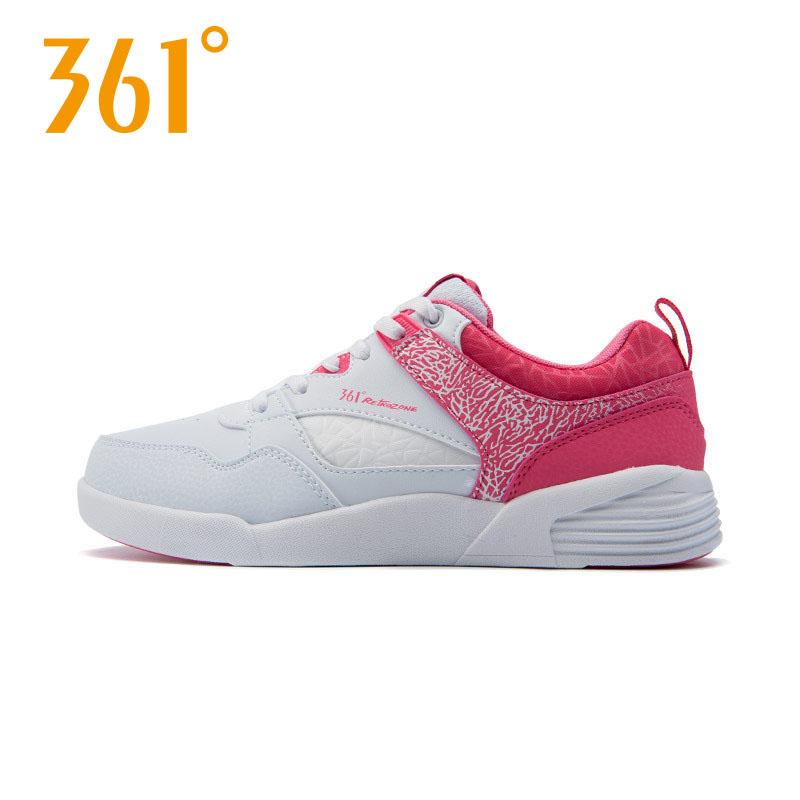 361度休闲运动鞋 361度女鞋运动鞋361学生鞋子女板鞋休闲鞋复古韩版平底滑板鞋_推荐淘宝好看的女361度休闲运动鞋