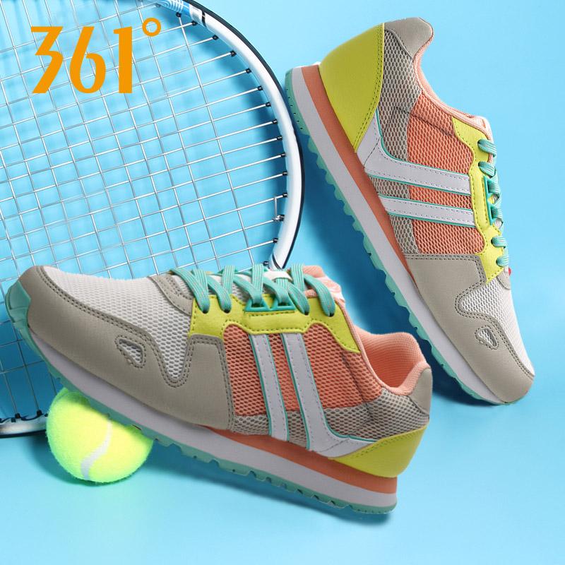 361度女式运动鞋 361度女鞋运动鞋网面旅游复古跑步鞋轻便网鞋女慢跑鞋 581622216_推荐淘宝好看的女361度女运动鞋