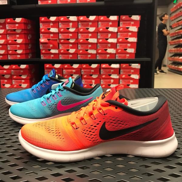 耐克女运动鞋 Nike耐克 女鞋 FREE 5.0赤足休闲运动跑步鞋831509-401-404-801_推荐淘宝好看的女耐克女运动鞋