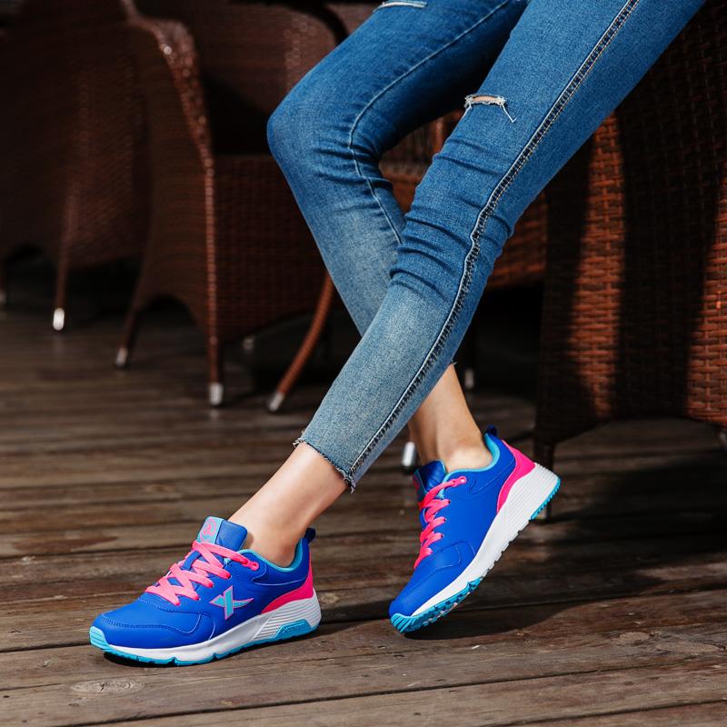 特步运动鞋 特步正品女鞋新款跑步鞋春季女士旅游鞋潮流百搭女跑鞋复古运动鞋_推荐淘宝好看的女特步运动鞋