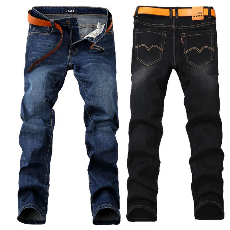 男士牛仔裤 加肥加大码男士牛仔裤特大号200斤300斤36 38 40 42 44 46 三尺五_推荐淘宝好看的男牛仔裤