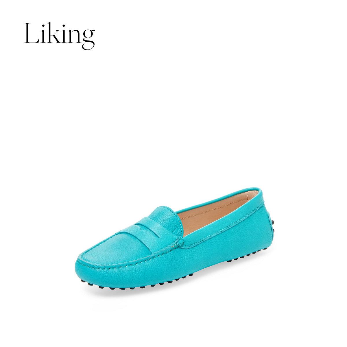 tods豆豆鞋 tods 女士乐福鞋豆豆鞋_推荐淘宝好看的女tods豆豆鞋