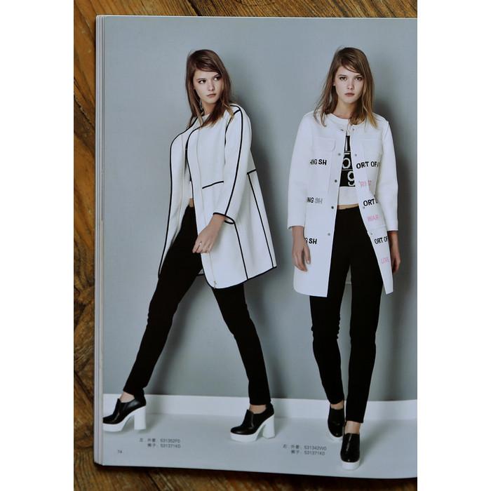 白色风衣 秘[T86-503]专柜品牌正品新款女士风衣外套女装风衣0.80KG_推荐淘宝好看的白色风衣