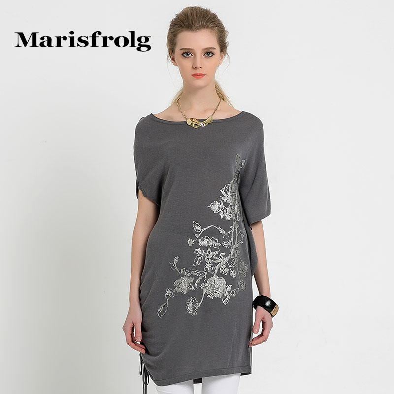 玛丝菲尔女装折扣店 Marisfrolg玛丝菲尔秋季女装优雅时尚不对称圆领针织衫专柜正品_推荐淘宝好看的玛丝菲尔