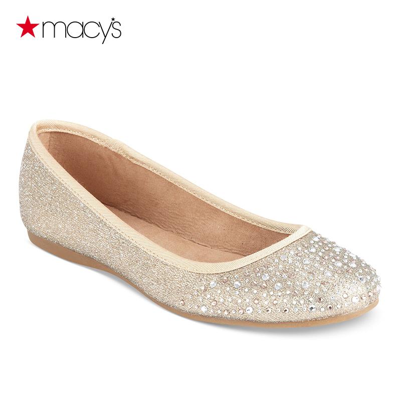 圆头平底鞋 Macy's女士平底鞋时尚舒适圆头浅口单鞋Style&co.161001915_推荐淘宝好看的女圆头平底鞋