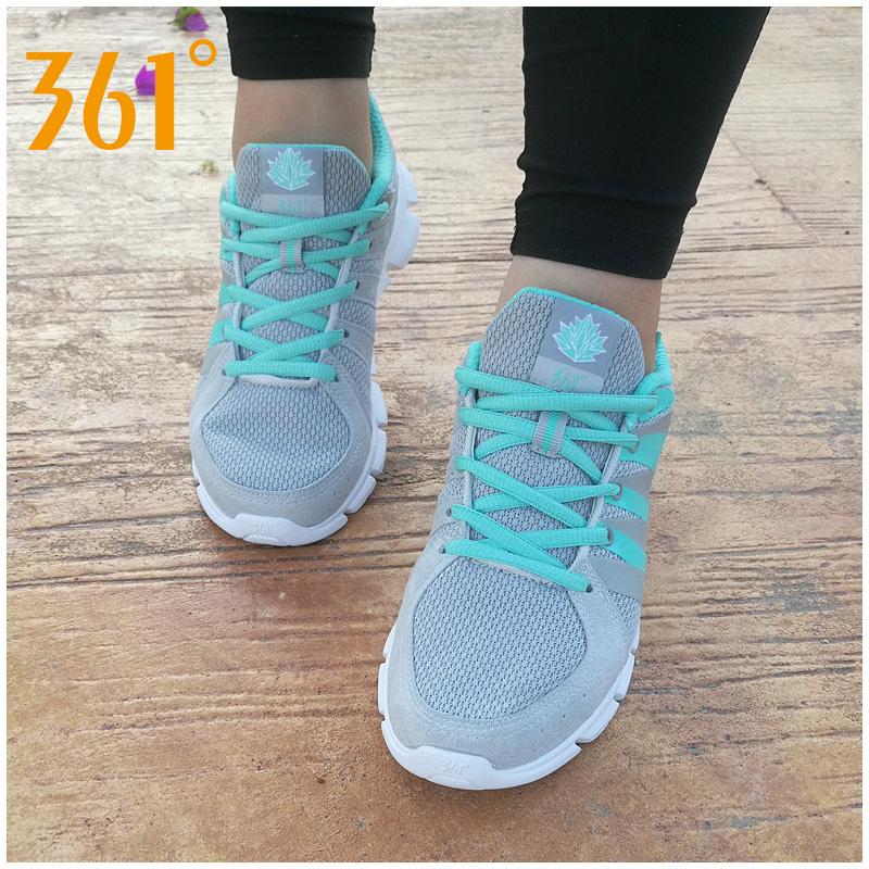 361度女式运动鞋 361女鞋夏季透气运动鞋女士跑步鞋2017新款361度网面轻便学生跑鞋_推荐淘宝好看的女361度女运动鞋