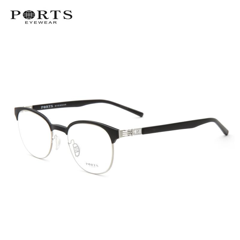 宝姿女装 宝姿 2016新款近视镜 全框眼镜架男 潮款舒适眼镜框女 POU11502_推荐淘宝好看的宝姿