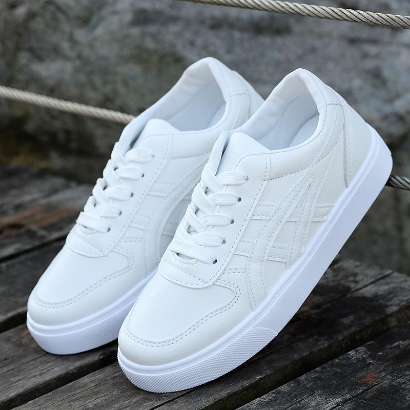 白色运动鞋 春秋男童白色运动鞋中学生鞋子女童黑色儿童鞋大童板鞋波鞋小白鞋_推荐淘宝好看的白色运动鞋
