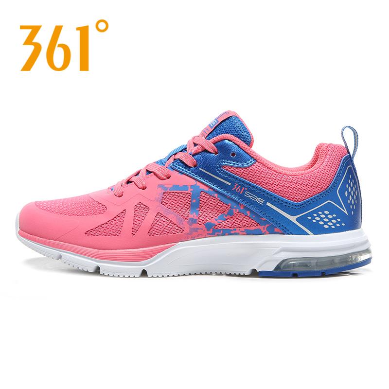 361度女士运动鞋 361度女鞋网面运动鞋 春秋款慢跑鞋女透气轻便跑步鞋581632206_推荐淘宝好看的女361度女运动鞋