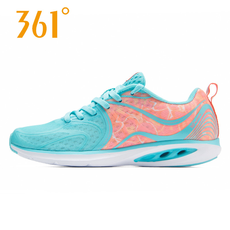 361度运动鞋正品 361度女鞋跑步鞋2017夏季新款运动鞋361透气超轻跑鞋女581722241_推荐淘宝好看的女361度运动鞋