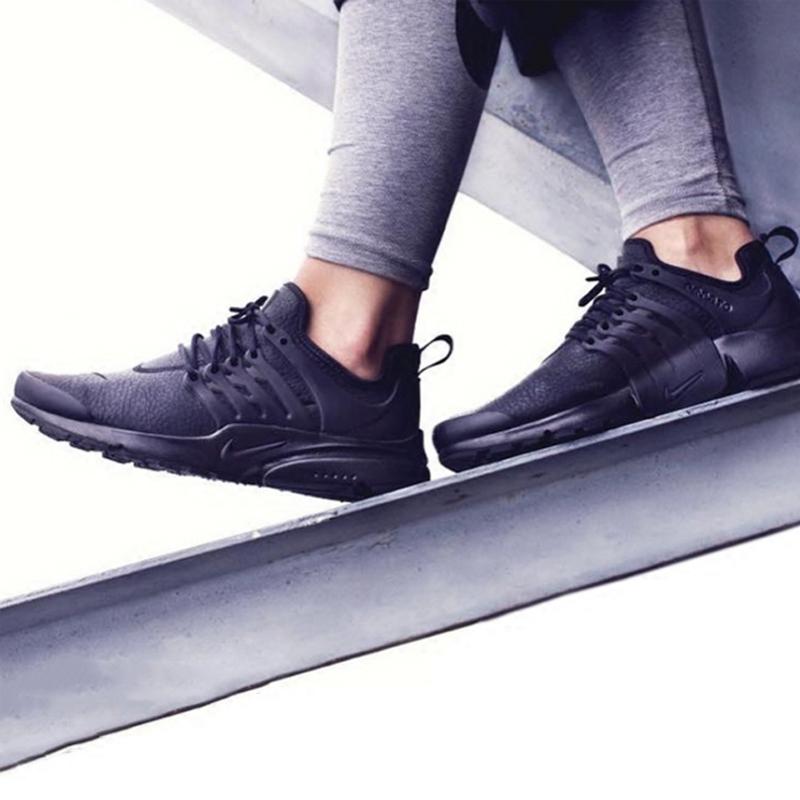 耐克女运动鞋 耐克NIKE AIR PRESTO PREMIUM女子全黑运动跑步鞋878071-002_推荐淘宝好看的女耐克女运动鞋