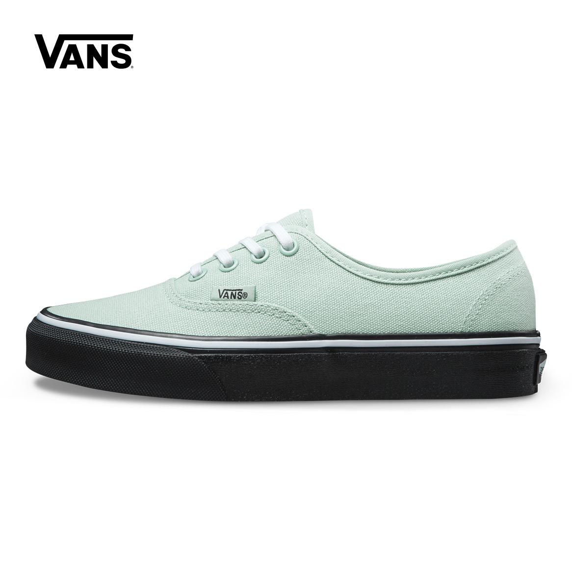 绿色帆布鞋 Vans范斯绿色女款板鞋休闲鞋帆布鞋|VN0A38EMOB2_推荐淘宝好看的绿色帆布鞋