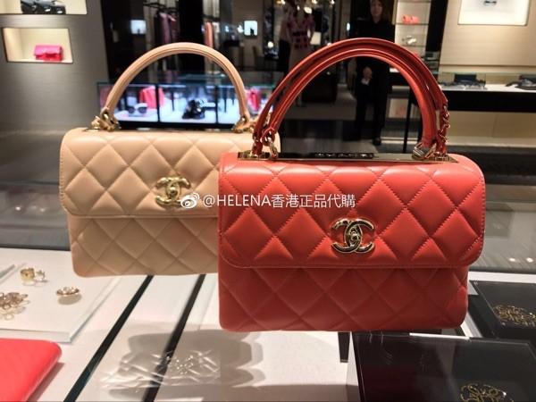 香奈儿菱格链条包 Chanel2017夏季 trendy cc 翻盖菱格链条包_推荐淘宝好看的香奈儿菱格链条包