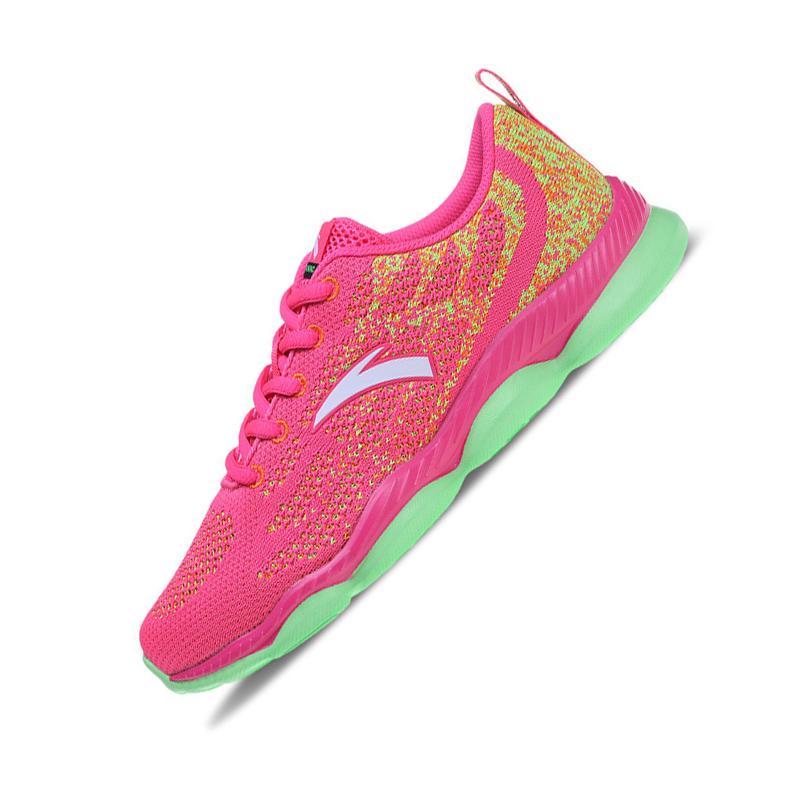 安踏运动鞋 安踏女鞋 综训鞋2016透气针织网面跑步鞋休闲运动鞋女12627710_推荐淘宝好看的女安踏运动鞋