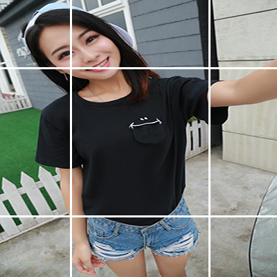 彩色条纹t恤 韩国学院风彩色横条纹撞色棉质宽松大码短袖打底衫学生百搭T恤女_推荐淘宝好看的女彩色条纹t恤