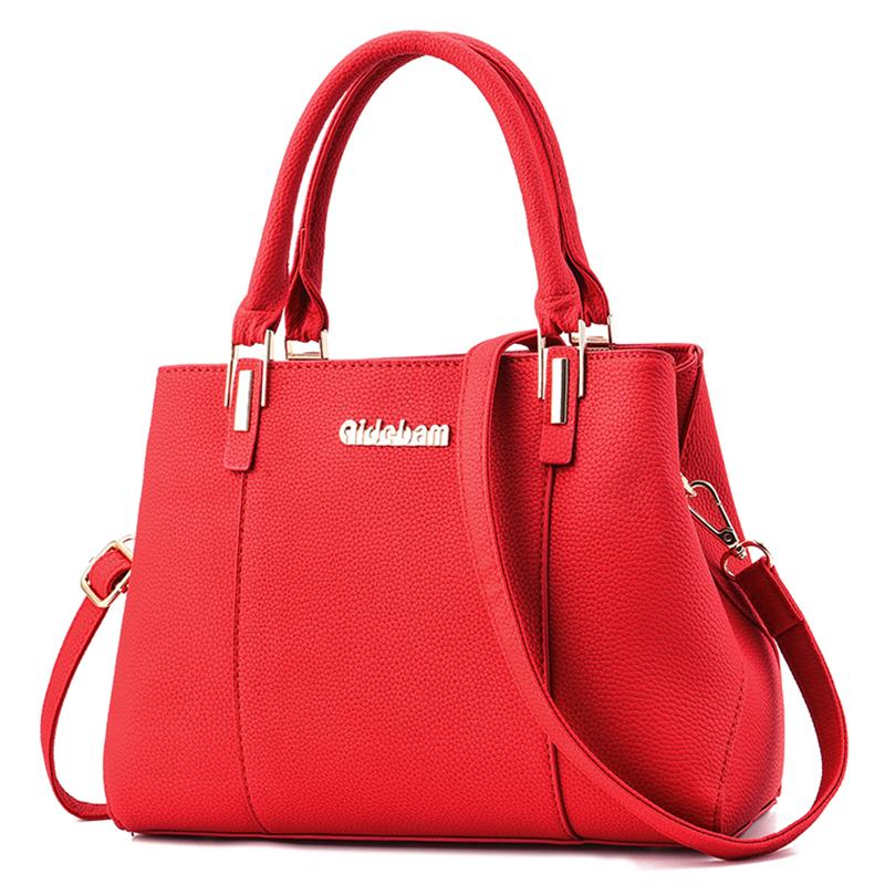 红色斜挎包 新娘包包大红色手提包女2019新款时尚大气女包单肩斜挎女士结婚包_推荐淘宝好看的红色斜挎包