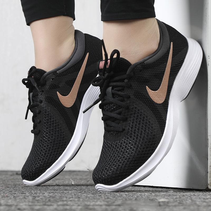 耐克老款运动鞋 正品耐克女鞋休闲跑步鞋 2020新款运动鞋轻便透气百搭 908999-009_推荐淘宝好看的女耐克运动鞋