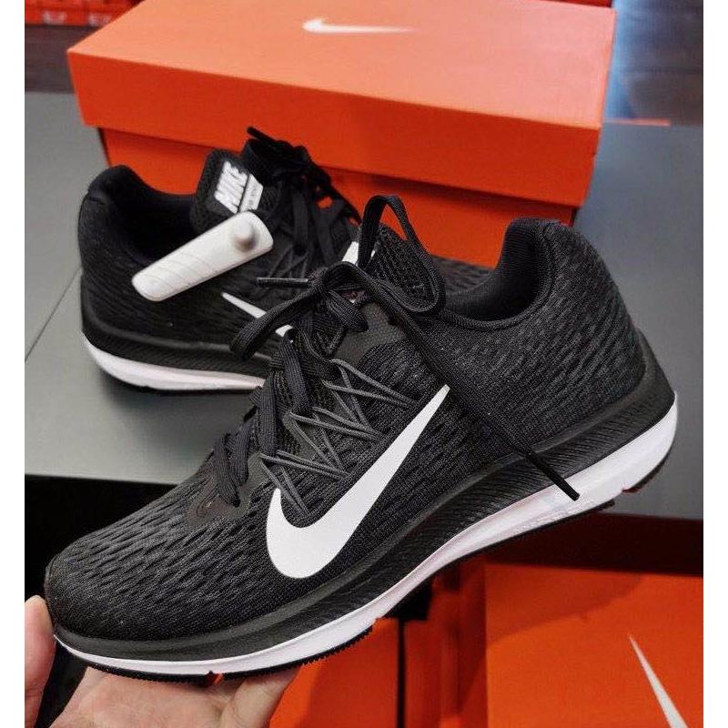 耐克老款运动鞋 正品耐克女2020春季新款Zoom缓震气垫跑步鞋运动休闲鞋AA7414-001_推荐淘宝好看的女耐克运动鞋