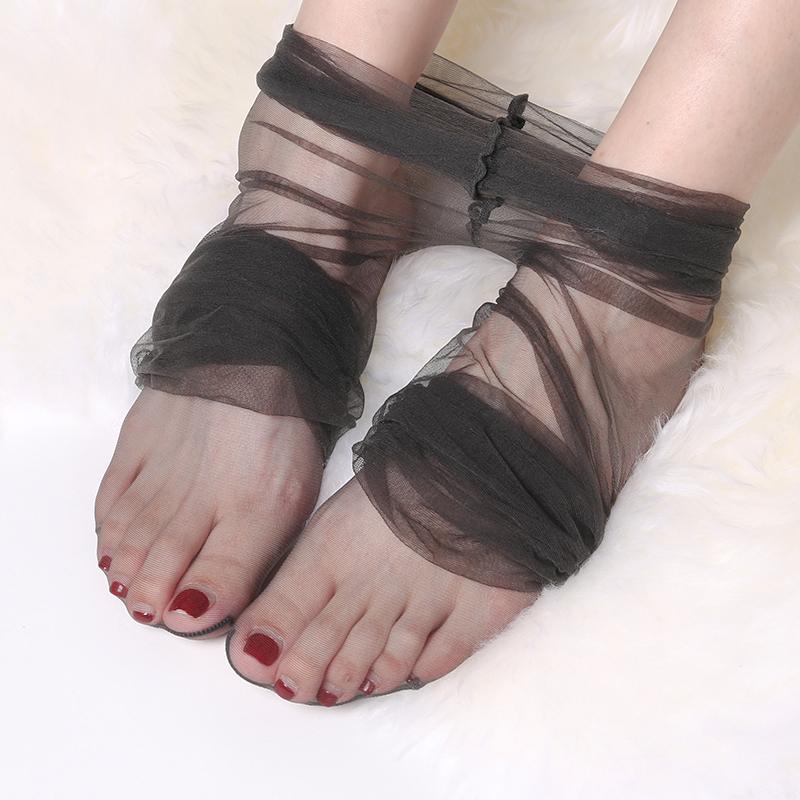 丝袜 浅黑色0D超薄丝袜女薄款带脚型全透明隐形无痕脚尖性感连裤袜夏季_推荐淘宝好看的丝袜