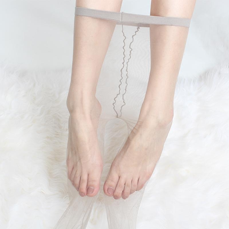 丝袜 0D超薄MF丝袜女薄款无痕隐形春秋季袜裸肤色全透明一线档肉色脚尖_推荐淘宝好看的丝袜