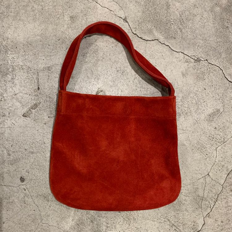 红色迷你包 NAKAMA INN牛反绒女士小背包红色原宿文艺单肩手提简约迷你托特包_推荐淘宝好看的红色迷你包