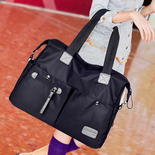 女款斜挎包 2021新款大容量韩版女包单肩包斜挎布包大包尼龙帆布包手提旅行包_推荐淘宝好看的女斜挎包